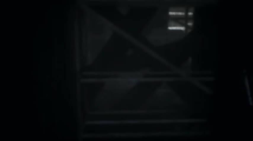 remotheredの画面の暗さを表す画像